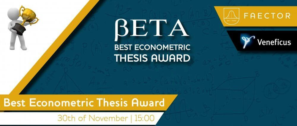 Best Econometric Thesis Award (BETA)